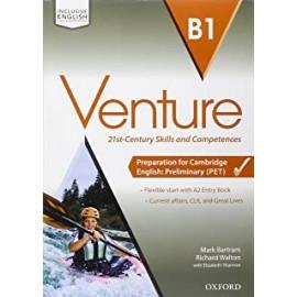 Venture B1 con CD e Entry Book
