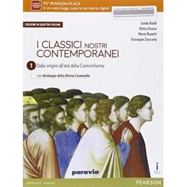 I classici nostri contemporanei 1. Volume + competenti. Edizione in 4 volumi