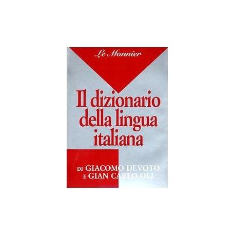 Dizionario Italiano DeVoto Oli