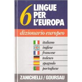 Dizionario Europeo 6 lingue