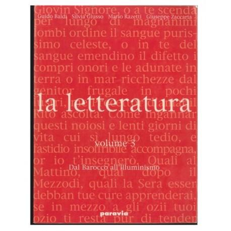 Letteratura (LA) 3