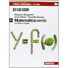 Matematica.verde 4. Con Maths in english