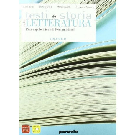 Testi e storia della Letteratura Vol. D