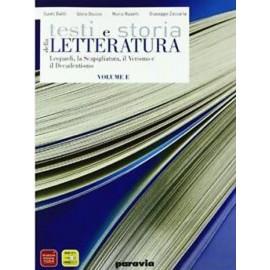 Testi e storia della Letteratura E