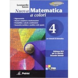 Nuova matematica a colori 4. Edizione Blu