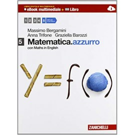 Matematica.azzurro 5. Con maths in english