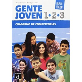 Gente Joven 1+2+3 Nueva edicion. Cuaderno de competencias