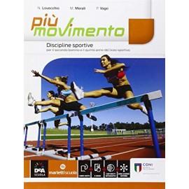 9788839303240 Piu Movimento Discipline Sportive M Merati Marietti Scuola