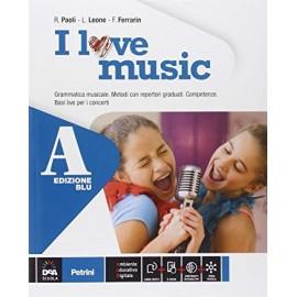 I love music A+B. Edizione blu