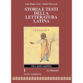 Storia e testi della letteratura latina 1