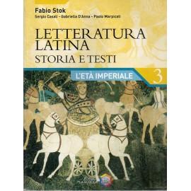 Letteratura latina storia e testi 3