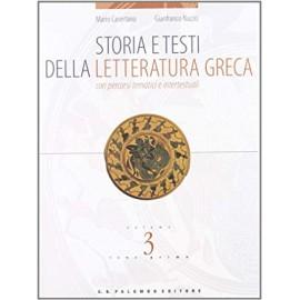 Storia e testi della letteratura greca 3