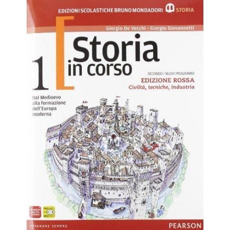 9788842435891 Storia in corso 1 Ed. rossa