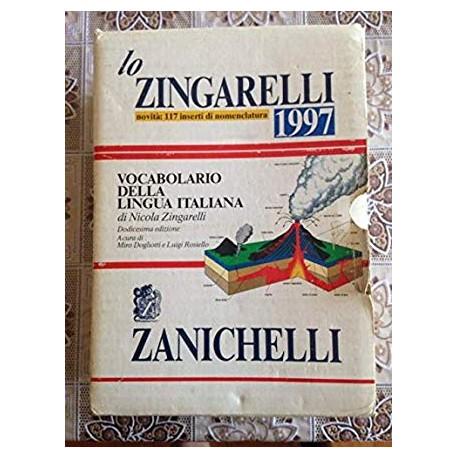 Lo Zingarelli 1997_9788808219909