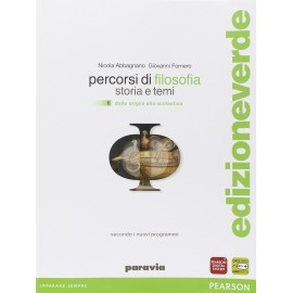 9788839526397 Percorsi di filosofia 1 Ed. verde