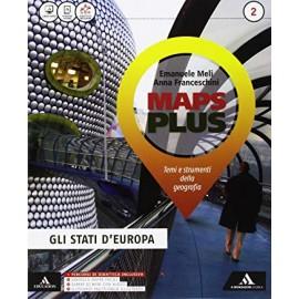 Maps Plus 2. Temi e strumenti della Geografia con DVD