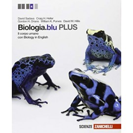 Biologia.blu plus. Il corpo umano con biology in english
