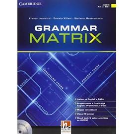Grammar matrix. No answers keys.