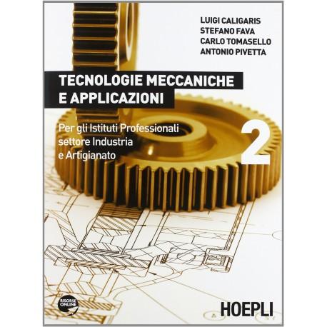 9788820351519 Tecnologie meccaniche e applicazioni 2