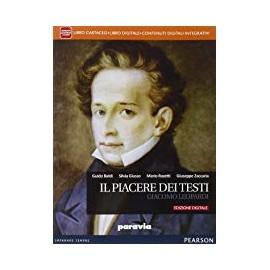 Il piacere dei testi. Giacomo Leopardi. Edizione digitale