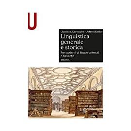 Linguistica generale e storica 1