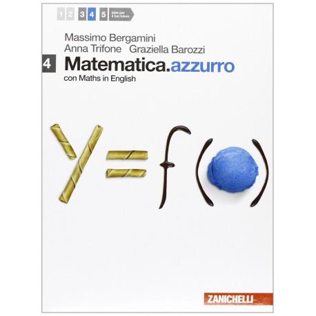 9788808115218 Matematica.azzurro 4