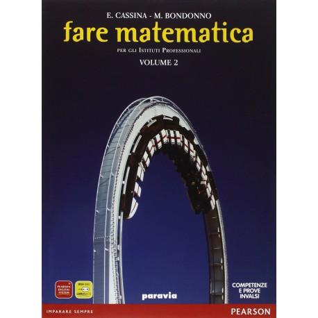 9788839540386 Fare matematica 2