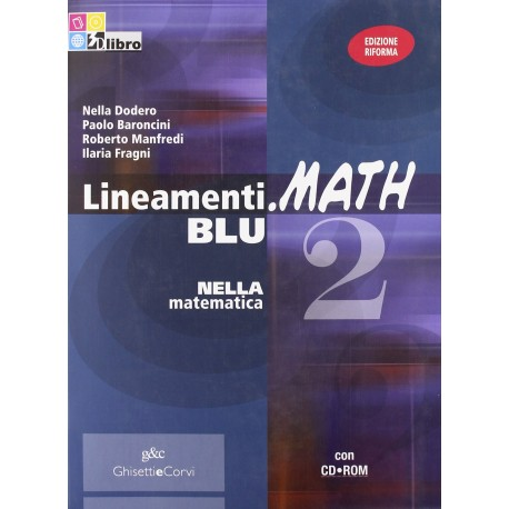 9788853818416 Lineamenti.Math Blu 2