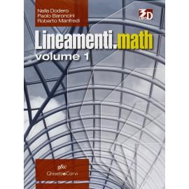 Lineamenti.Math 1