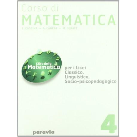 9788839519009 Corso di matematica 4