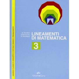 Lineamenti di matematica 3