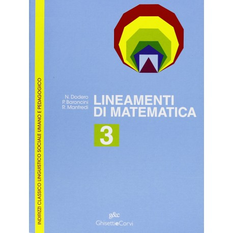 9788880136743  Lineamenti di matematica 3