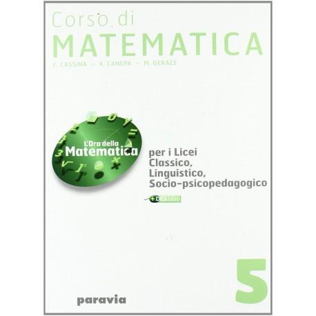 9788839513236 Corso di Matematica 5