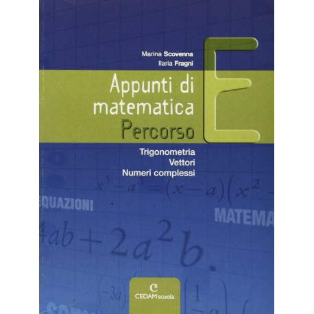 9788861810501 Appunti di  matematica E