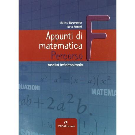 9788861810518  Appunti di matematica F