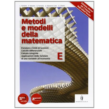 9788829836390 Metodi e modelli della matematica E