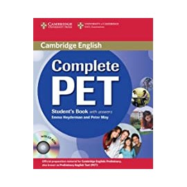 Complete PET studen's book with answers