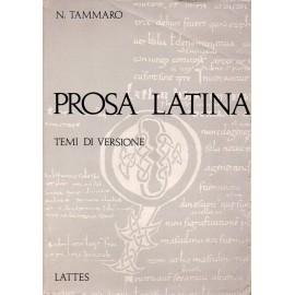 Prosa latina. 500 temi di versione dal latino