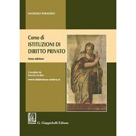 Corso di Istituzioni di diritto privato. Sesta edizione