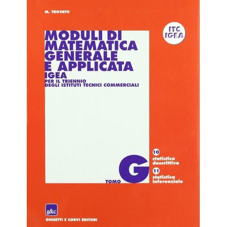 9788880137016  Moduli di matematica generale ed applicata G