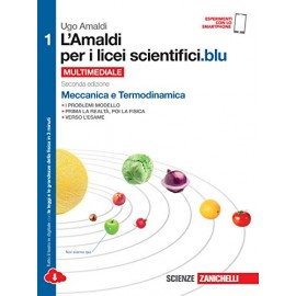 9788808721204 L'amaldi per i licei scientifici blu 1