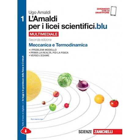 9788808721204 L'amaldi per i licei scientifici blu 1