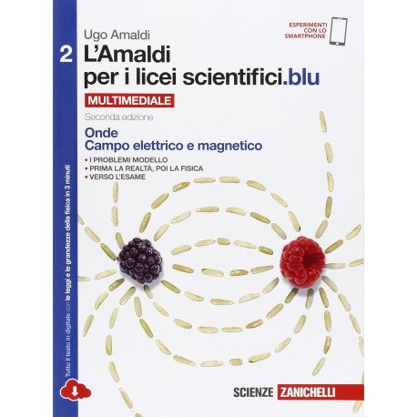 9788808937391 L'amaldi per i licei scientifici blu 2