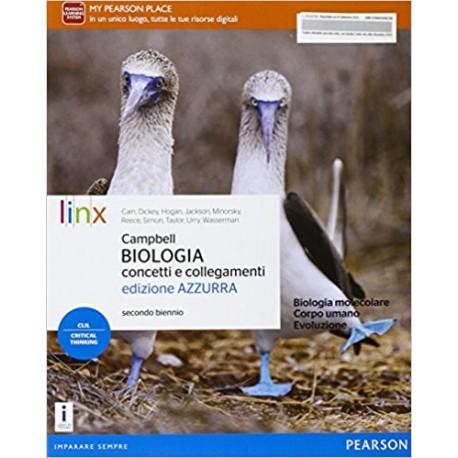 9788863648676 Biologia concetti e collegamenti azzurra