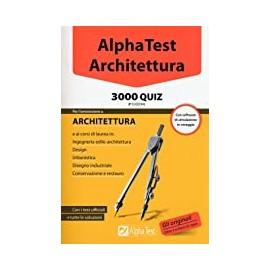 AlphaTest architettura. 3000 quiz. Edizione 3