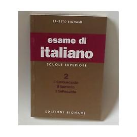 L' esame di italiano. Per i Licei e gli Ist. magistrali vol.2