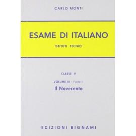 L'esame di italiano. il 900. Per IT