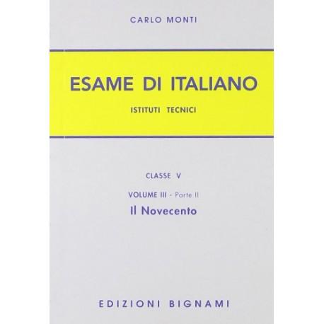 ESAME di italiano 900 per IT