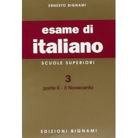 L'esame di italiano. Il Novecento