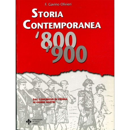 9788886082010 Storia Contemporanea 800-900